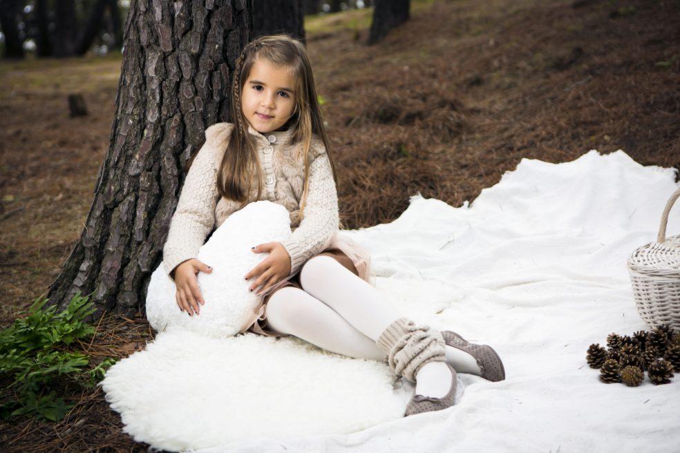 Sesión fotos exterior especial Navidad con niños