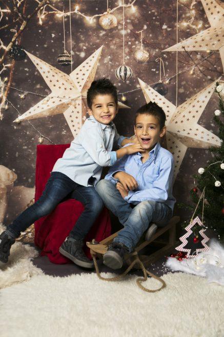 Sesión fotos Navidad con niños