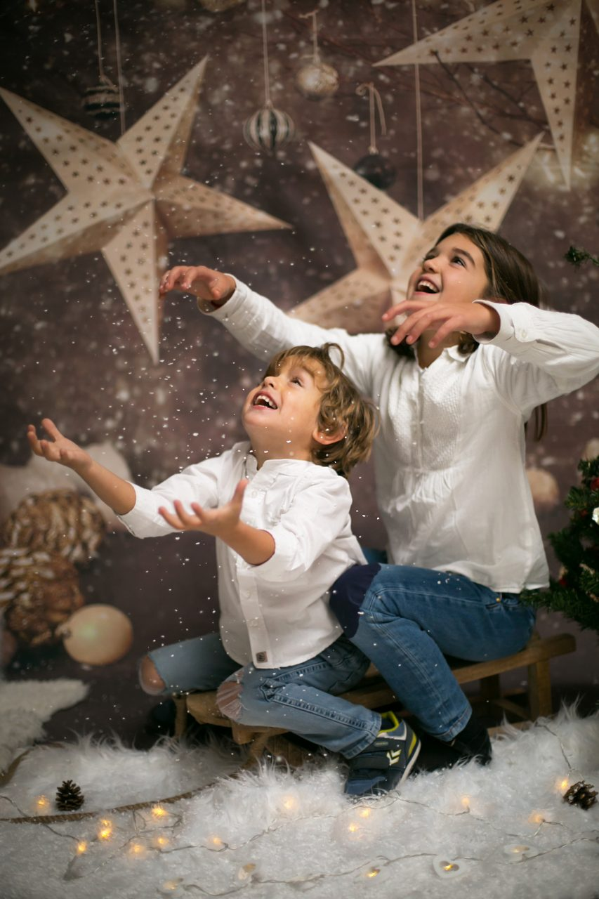 sesion de fotos Navidad niños Mataro Barcelona (37)