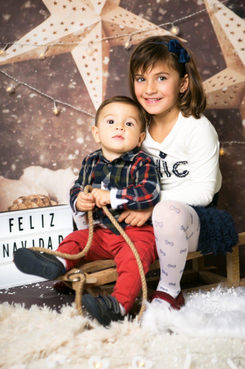 sesion de fotos Navidad niños Mataro Barcelona (8)