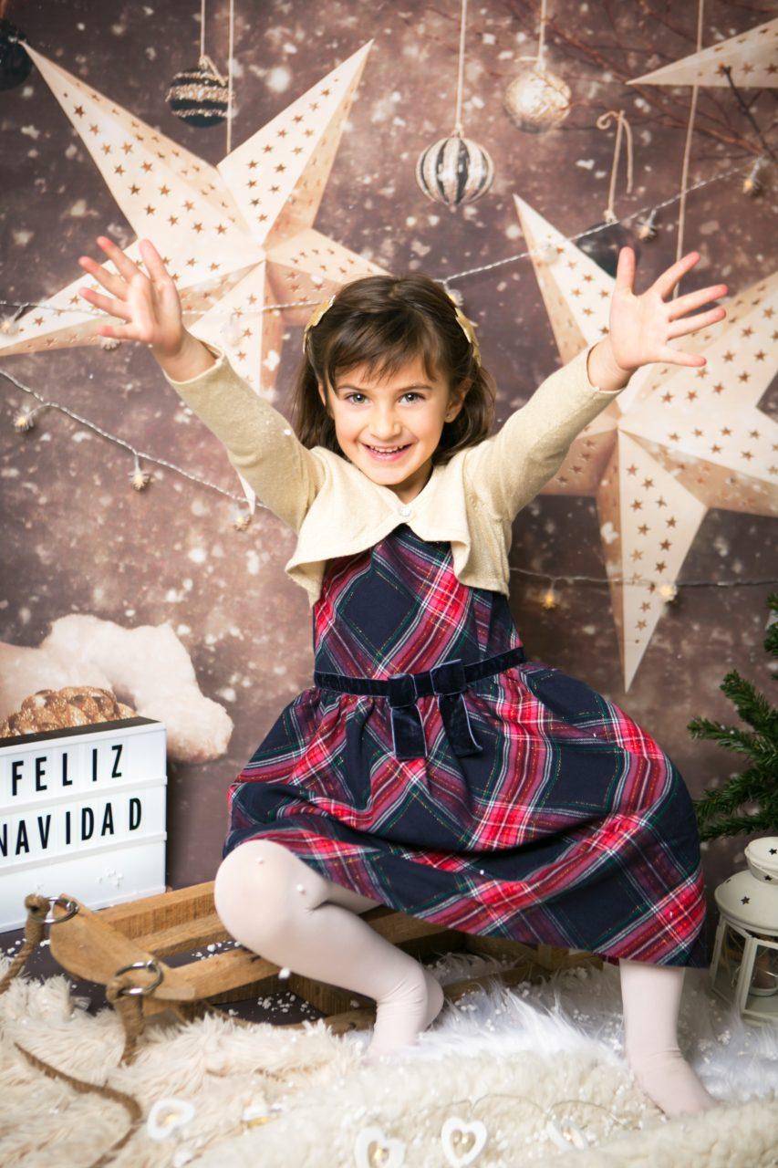 sesion de fotos Navidad niños Mataro Barcelona (9)