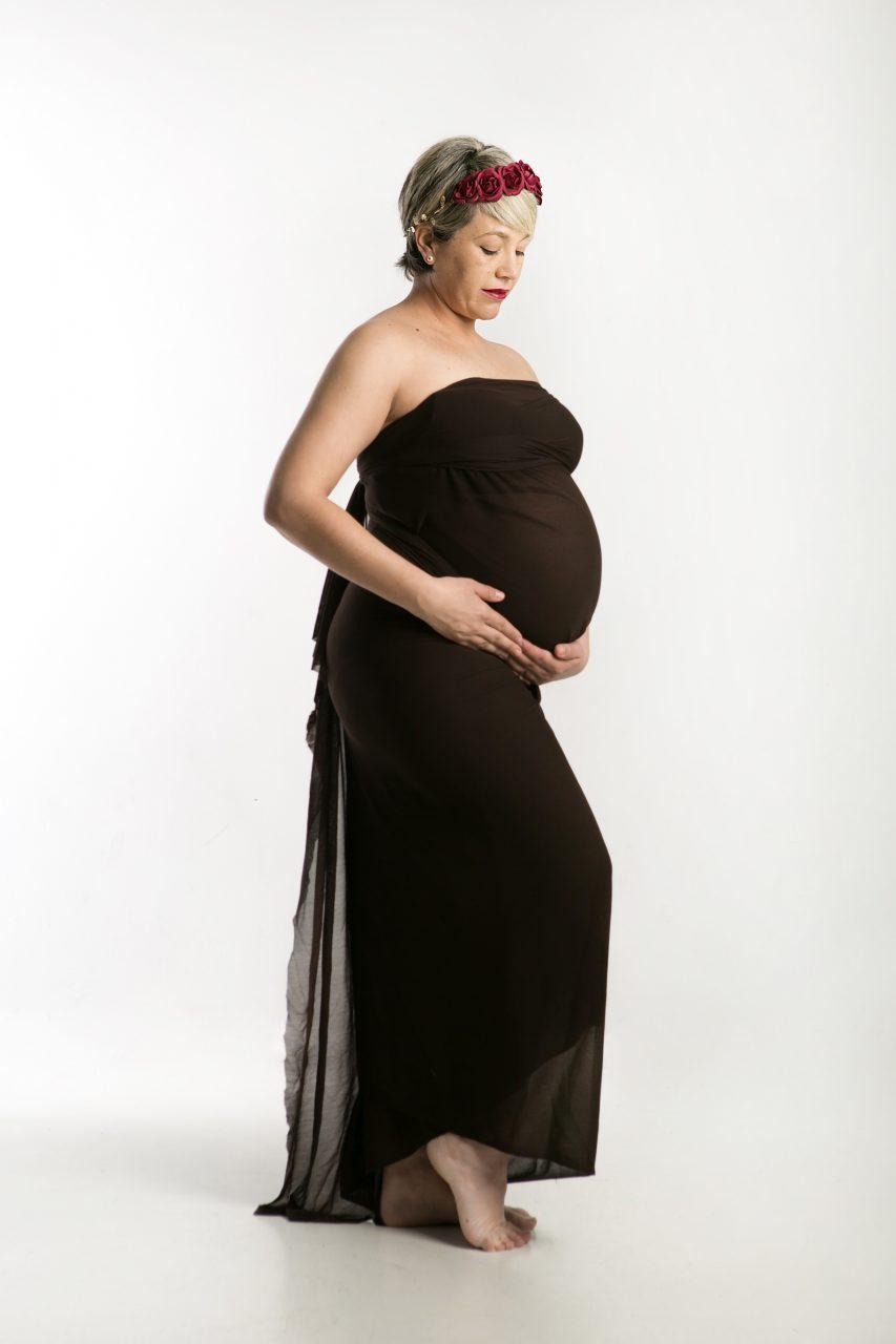 Sesión de fotos de embarazo en Mataró