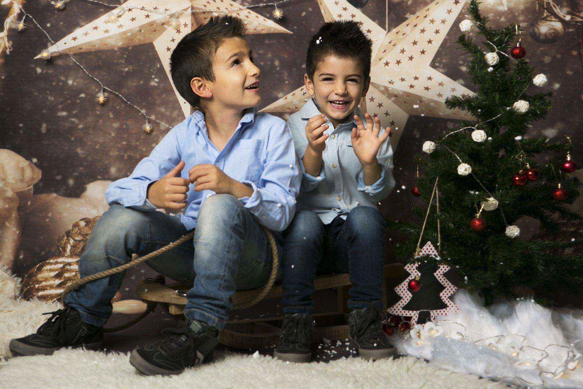 sesion de fotos Navidad niños Mataro Barcelona (3)