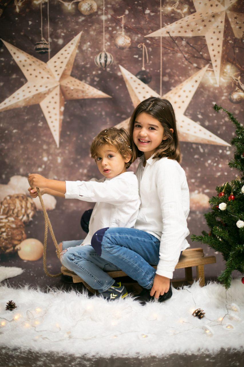 sesion de fotos Navidad niños Mataro Barcelona (38)