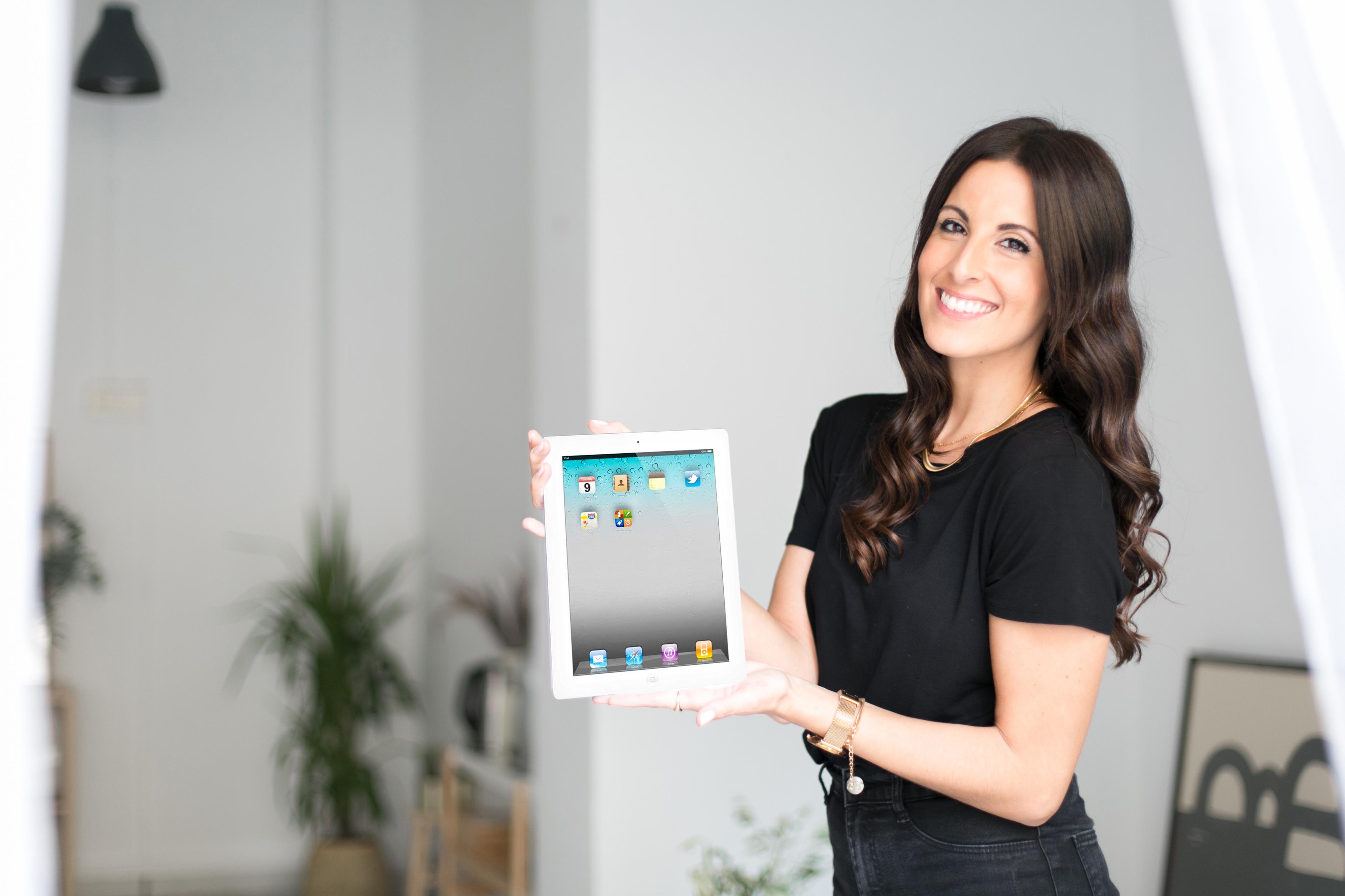 Fotografia corporativa mujer emprendedora